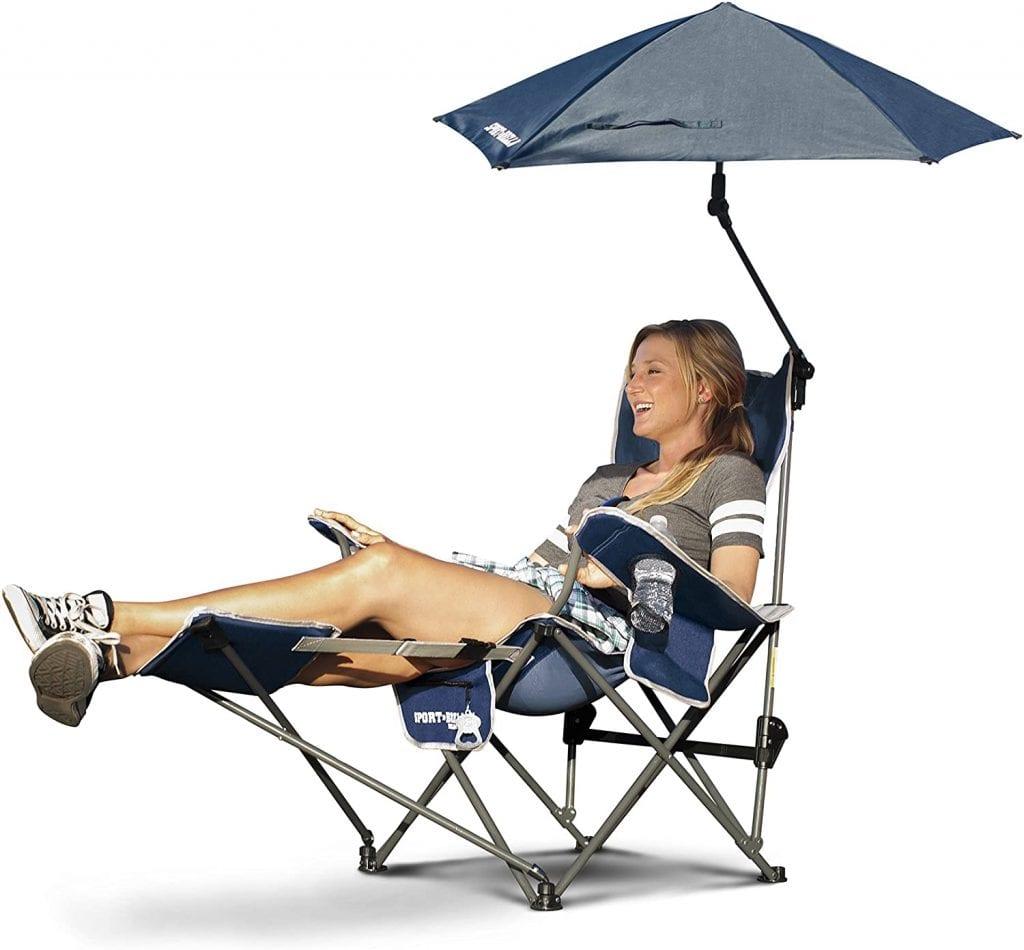 Sport Brella Umbrella Removing 3 Positioned Reclining Chair