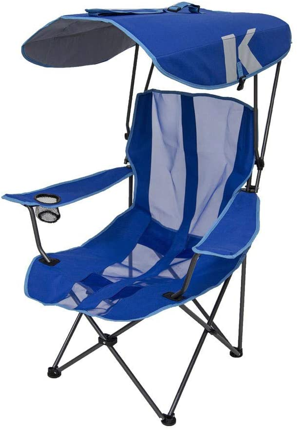 SwimWays Royal Blue Original Chair With Canopy