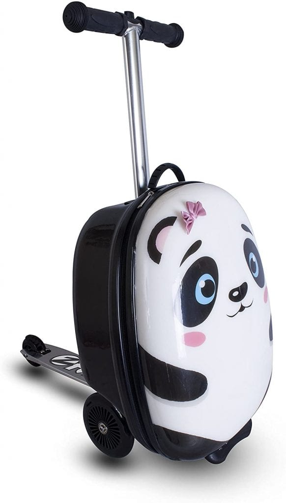ZincFlyte Kid's Polly the Panda Luggage Scooter