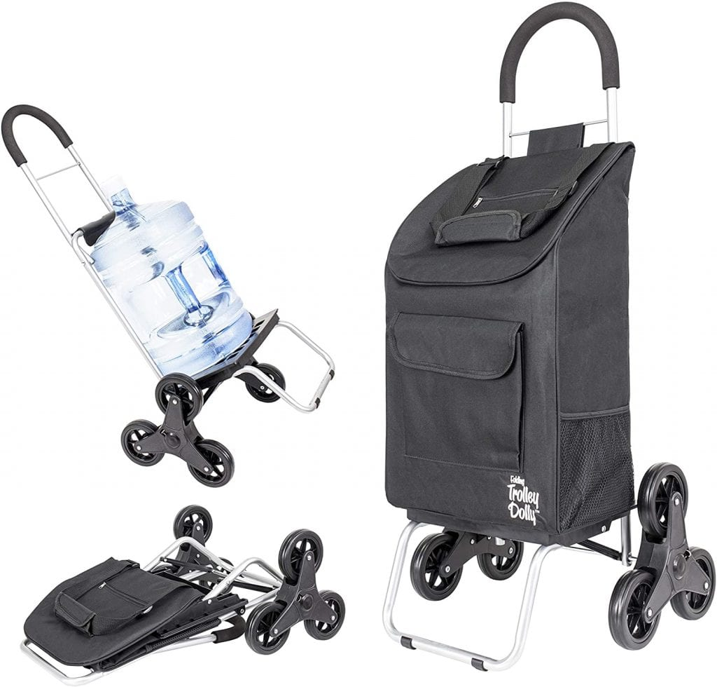 dBest products Foldable Stair Climbing Trolley Dolly