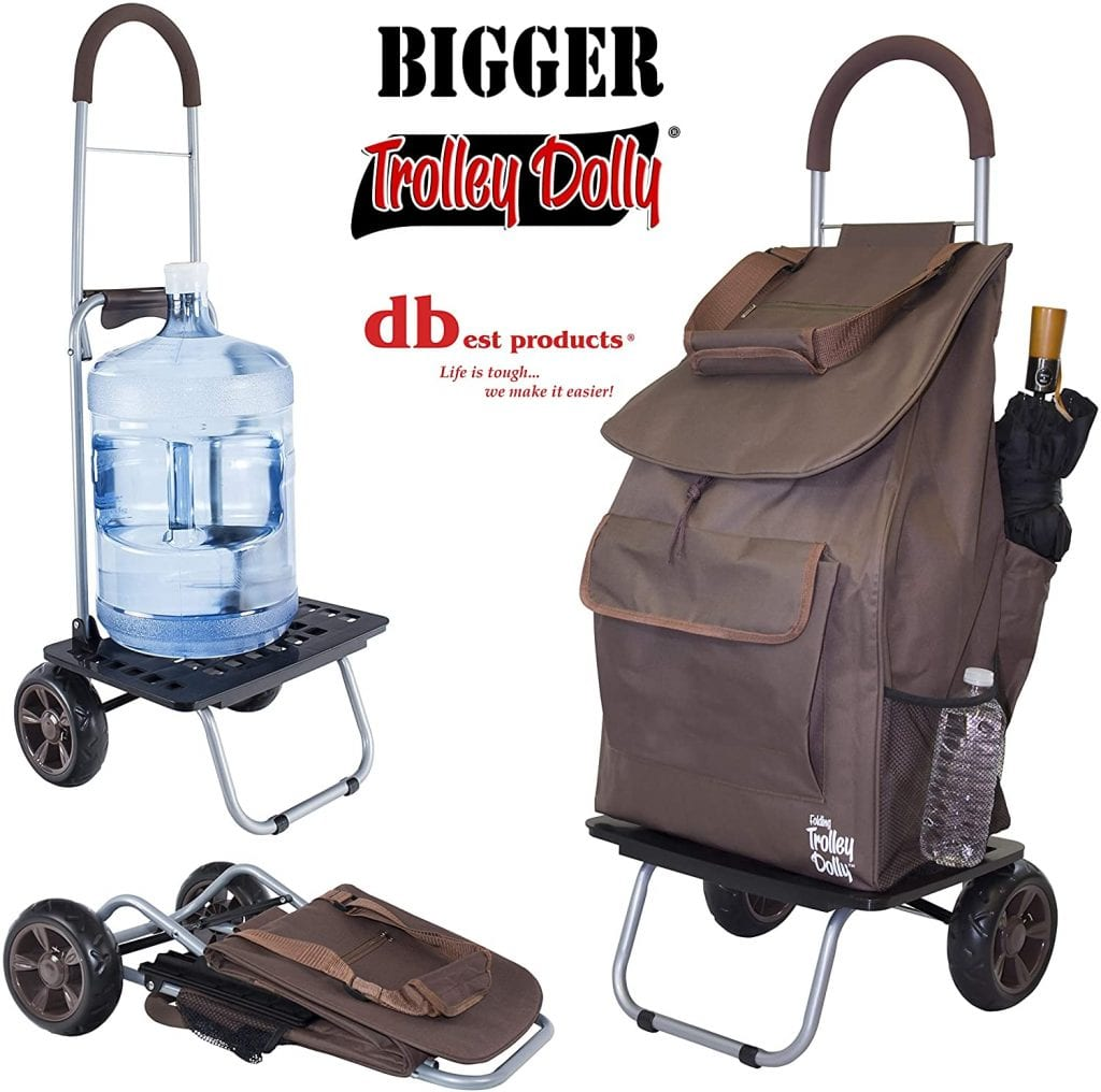 dBest products Foldable Trolley Dolly