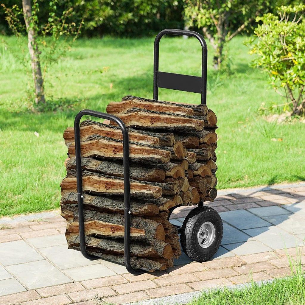 1900 Earth Worth Firewood Log Carrier Cart