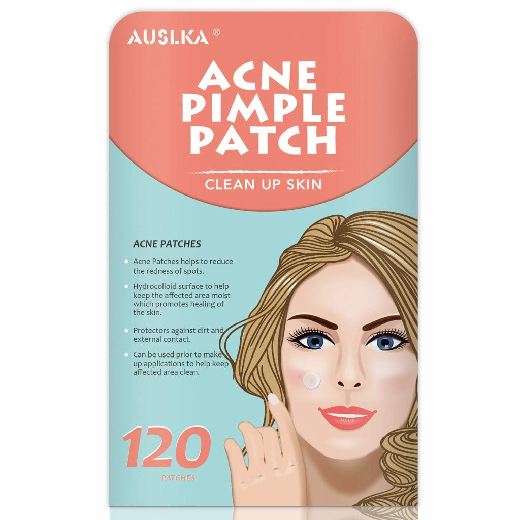 AUSLKA Tea Tree Oil Zit Patches Acne Spot Treatment Stickers