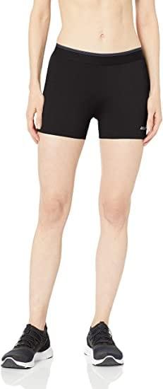 Amazon Essential Inseam Elastic Women's Waist Performance 3.5 Inches Short