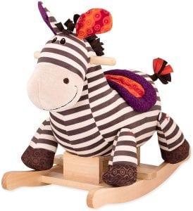 B. toys by Battat Rocking Zebra