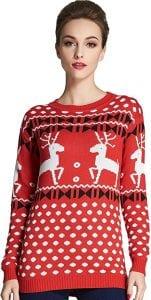 Camii Mia Women's Christmas Sweater