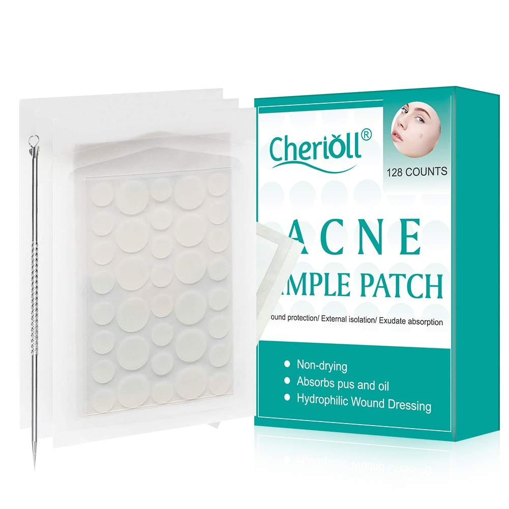 Cherioll Invisible Look Natural Ingredients Blemish Spot Treatment Patches