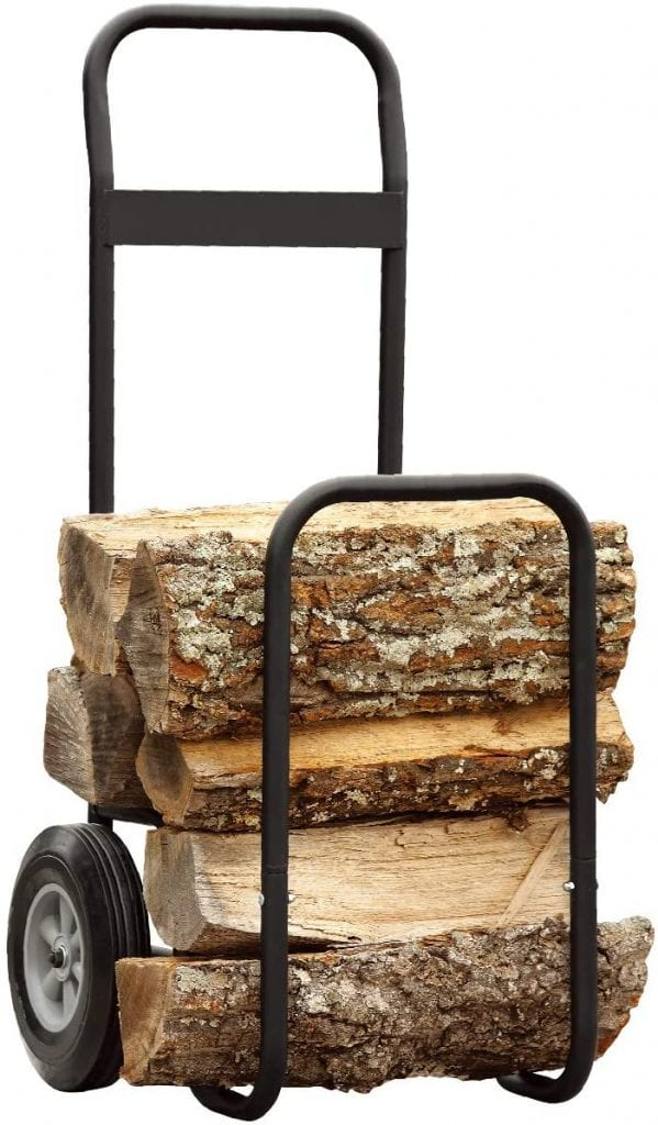 Fire Beauty Firewood Log Carrier Cart