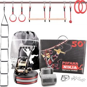 Fofana Ninja Warrior Obstacle Course