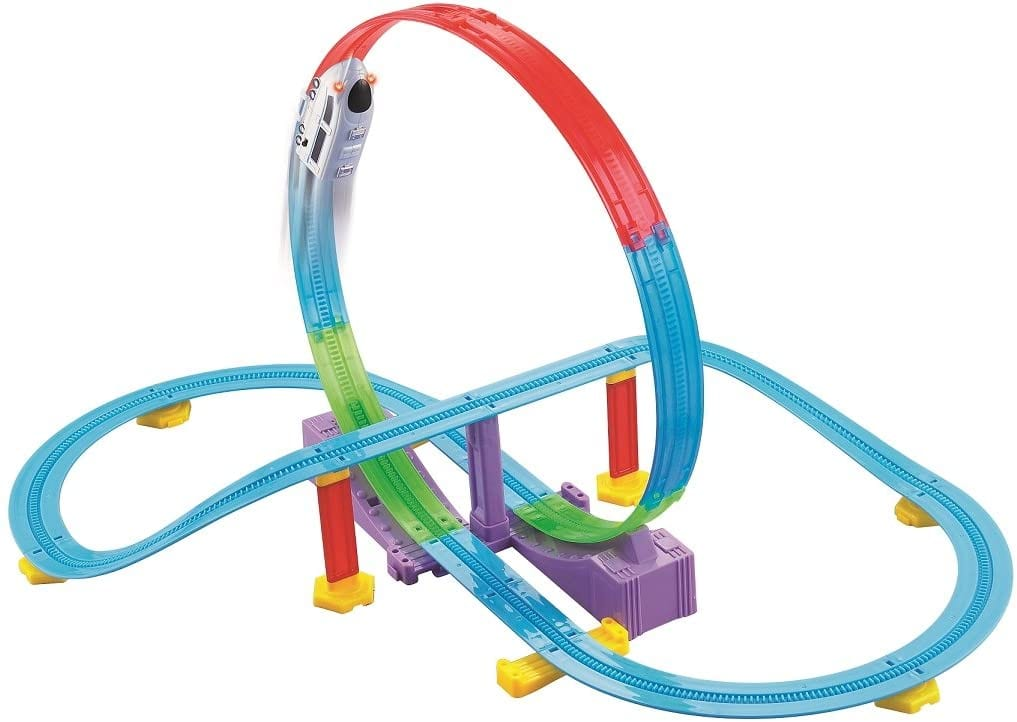 Haktoys Tracking Safe Racing Toddler-Kids Roller Coaster