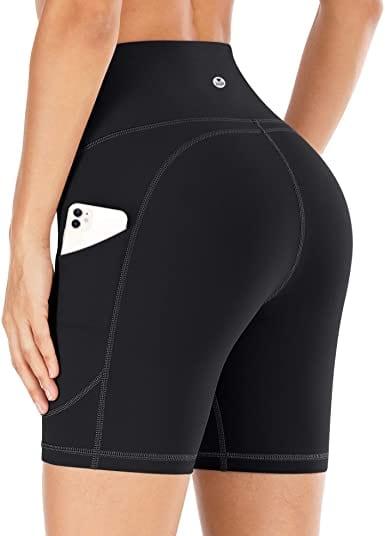IUGA Running Biker High Waist Women Shorts With Pockets