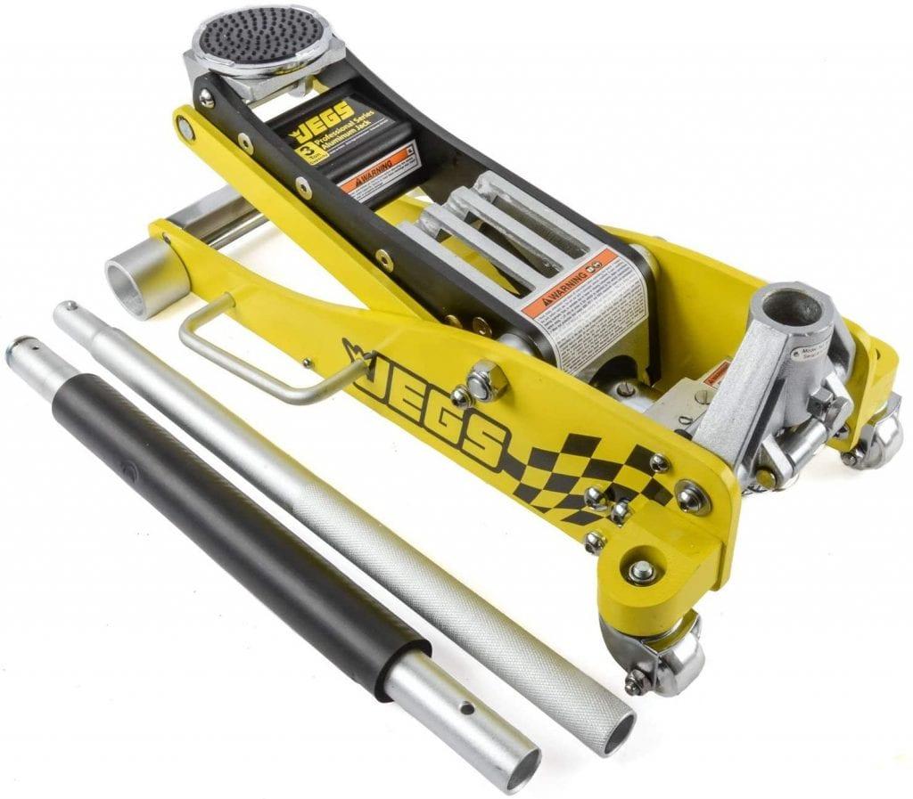 JEGS 80077 Professional Low-Profile Aluminum Floor Jack