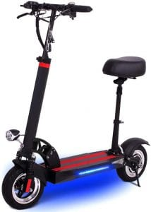MRJ IP54 Seated Electric Scooter For Adults