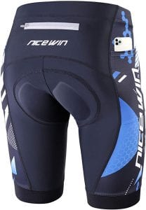 NICEWIN Men's Cycling Half Pants