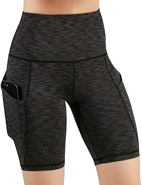 ODODOS Running High Waist Pocket With Tummy Controlling Band Yoga pant