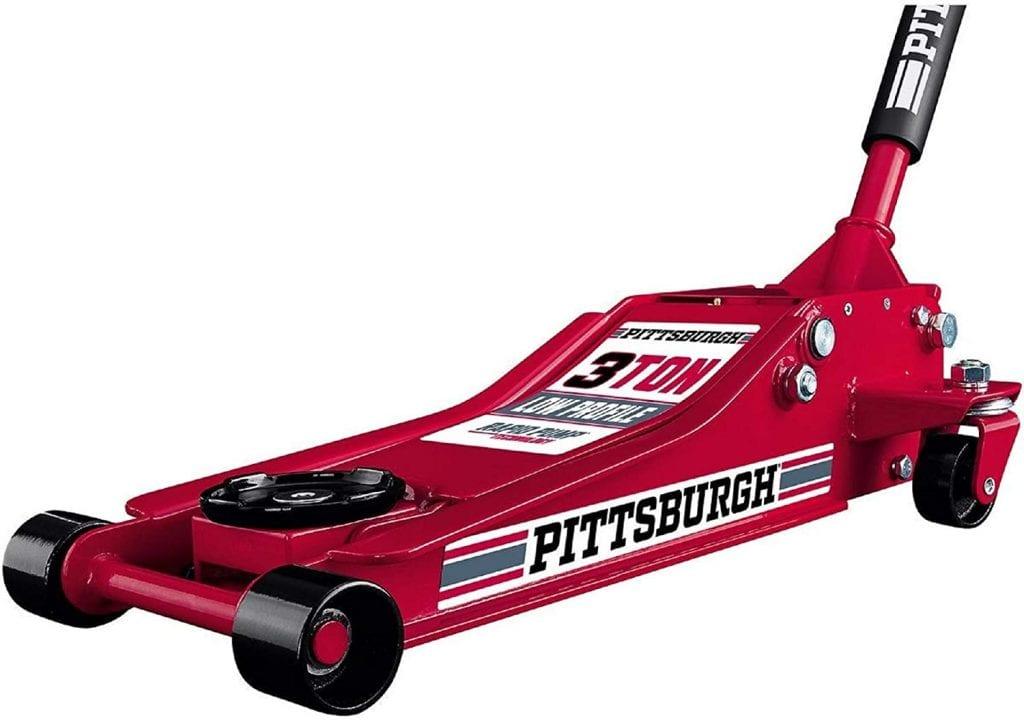 Pittsburgh Automotive 3 Ton Heavy Duty Steel Floor Jack