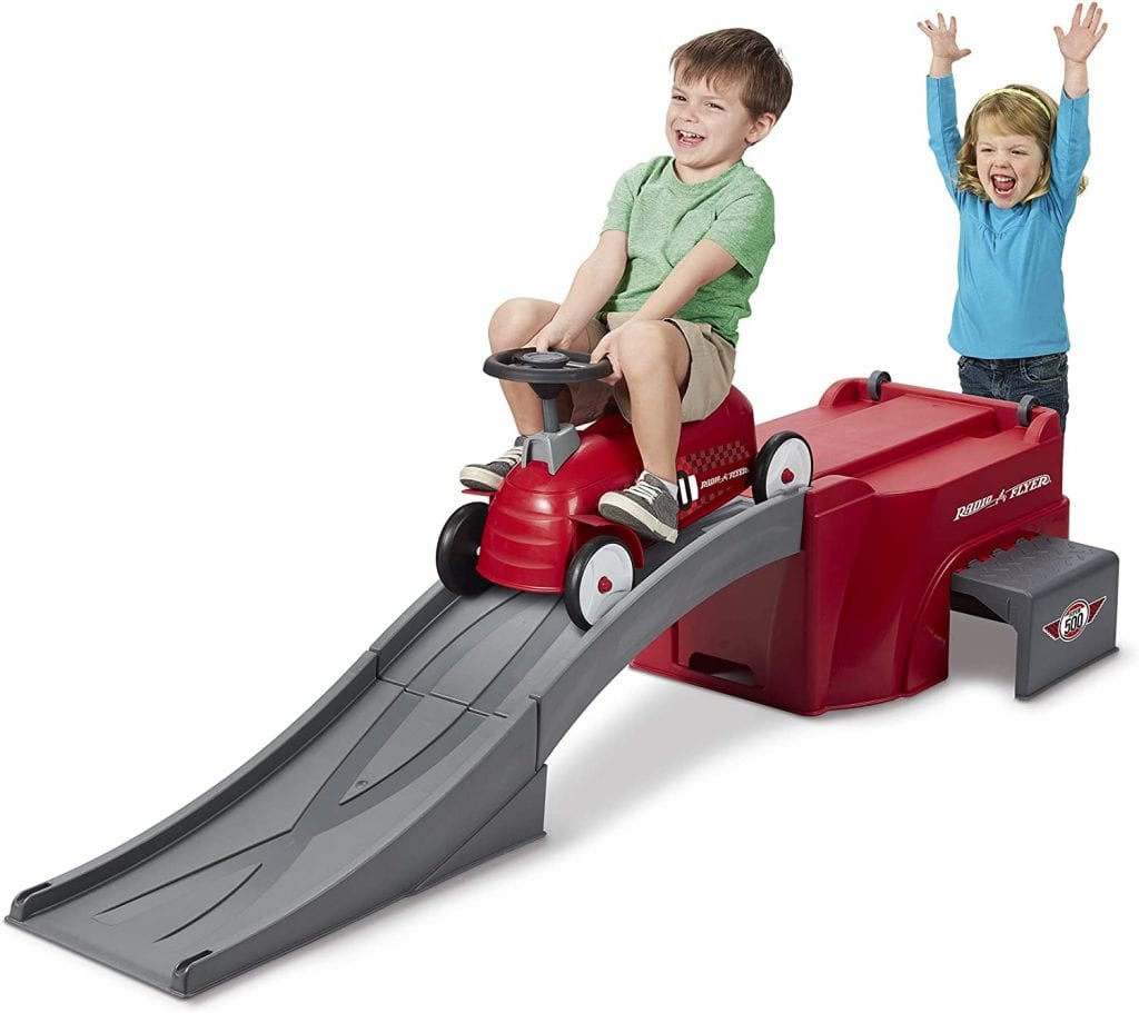 Radio Flyer Toy For Age 3-5 Ride On-Ramp 500 Toddler Roller Coaster