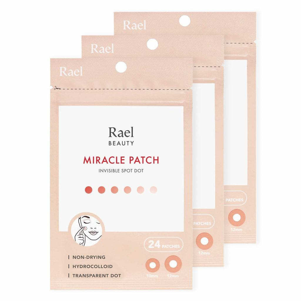 Rael Two Size Absorbing High-Grade Hydrocolloid Skin Patch