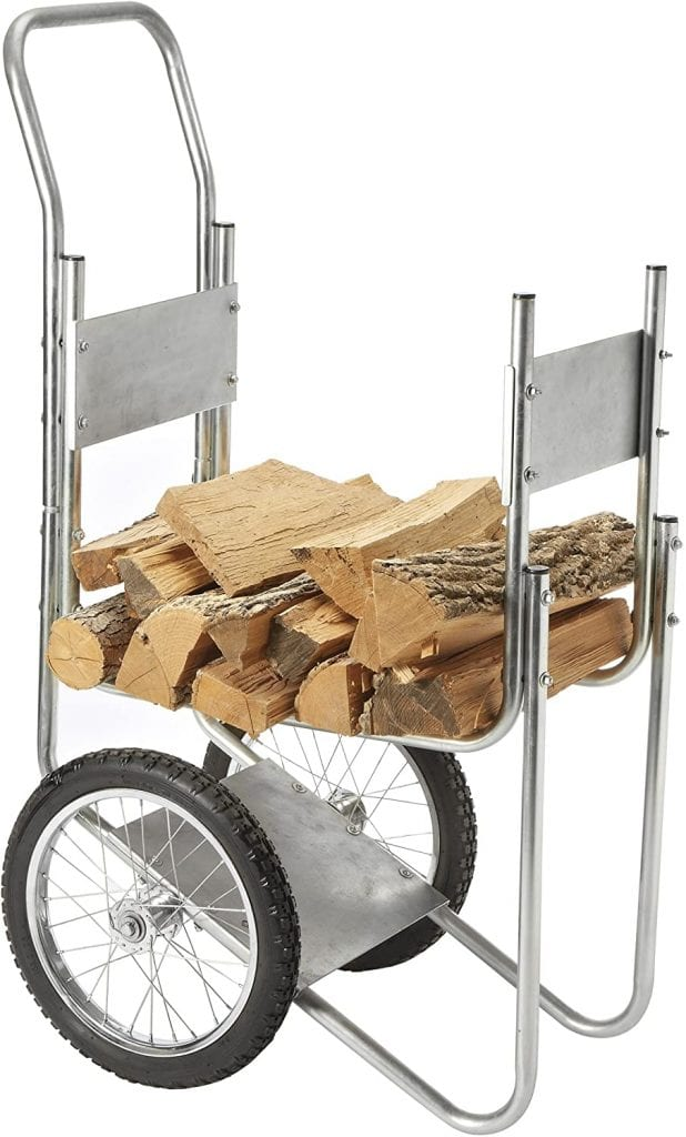 Sporty's Firewood Log Cart Carrier