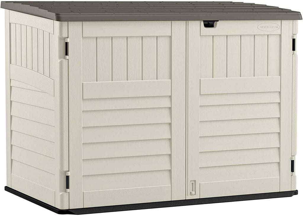 Suncast The Stow-Away-BMS4700 Horizontal Shed