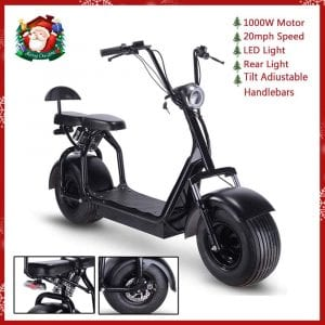 TOXOZERS Adult Citycoco 1000W Fat Tire Scooter