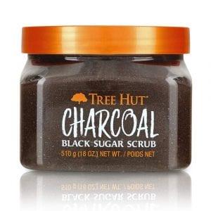 Tree Hut Charcoal Black Sugar Scrub