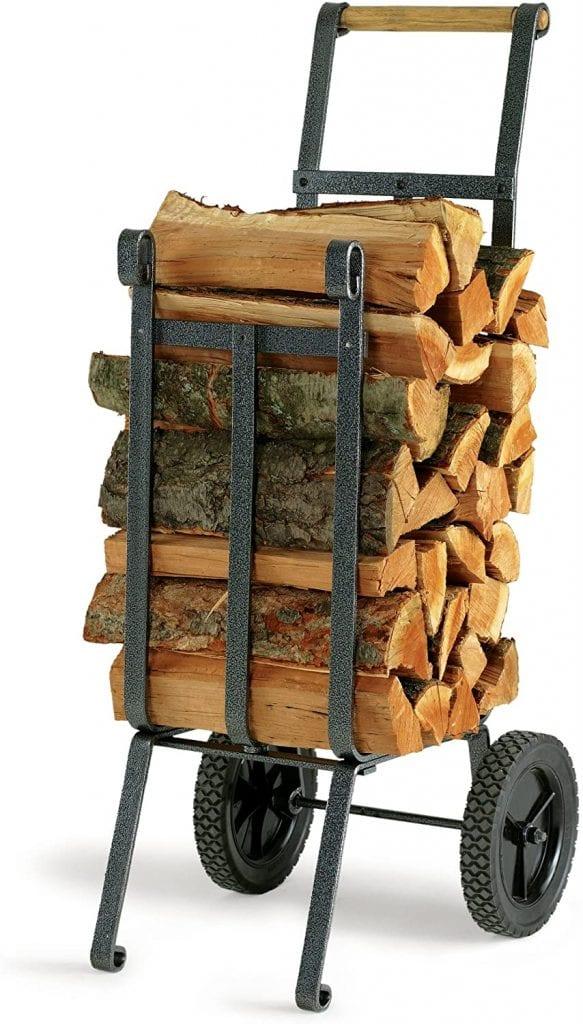 Vogelzang LC-37 Firewood Log Carrier Cart