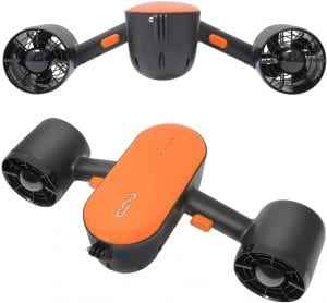 cho Under Water Scooter Dual Propellers with Camera Mount