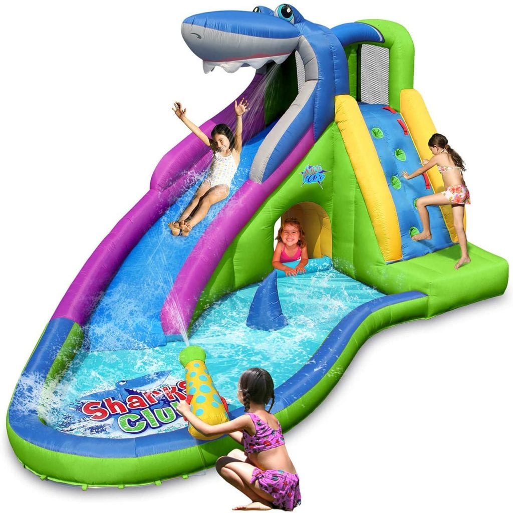ACTION AIR Inflatable Water Slide