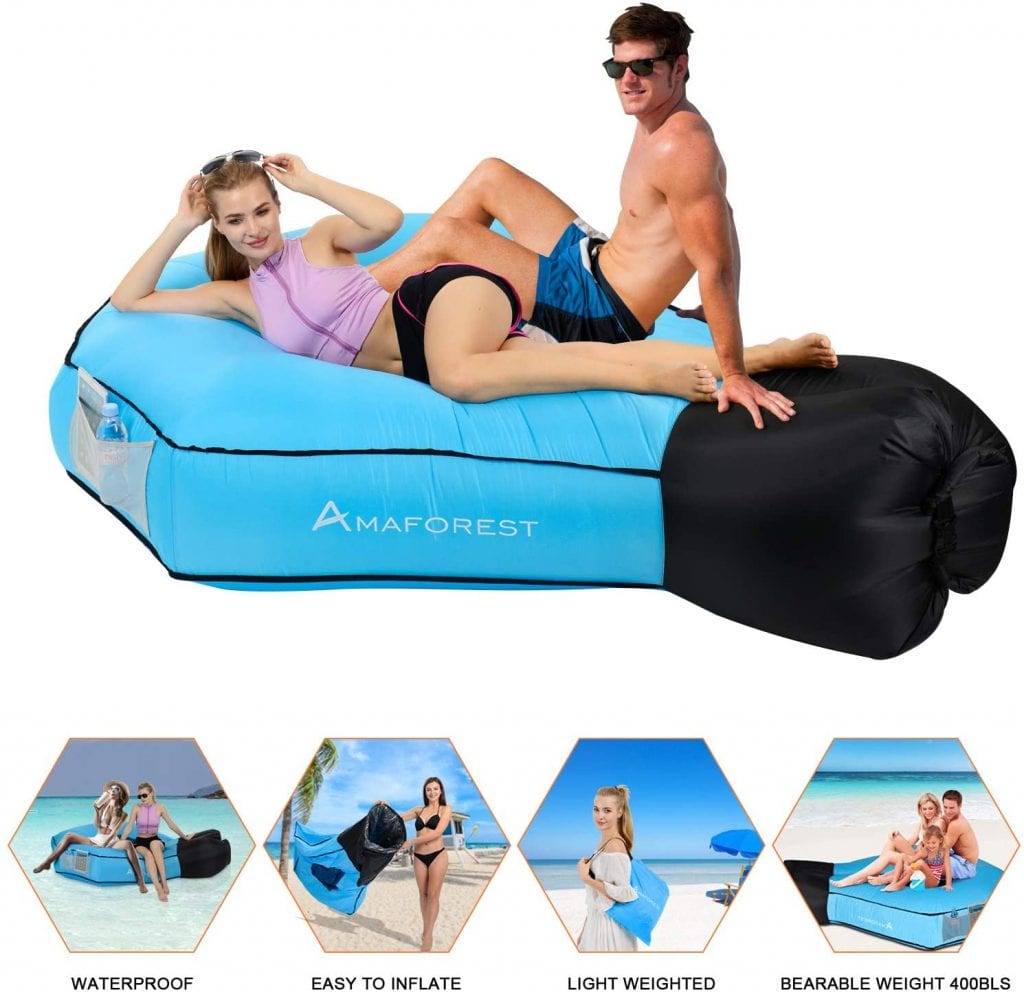 Ama Forest Accessories Blue Couch Anti-leak Inflatable Lounge