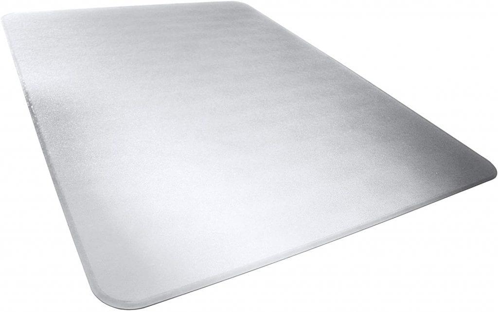 AmazonBasics Heavy-Duty Polycarbonate Hard Flooring Carpet Chair Mat