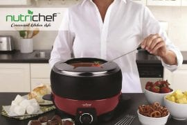 Electric Fondue Pot Set