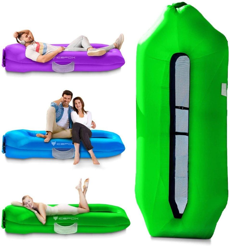 Icefox Anti-Air Leak Floating Waterproof Hiking Inflatable Beach Sofa