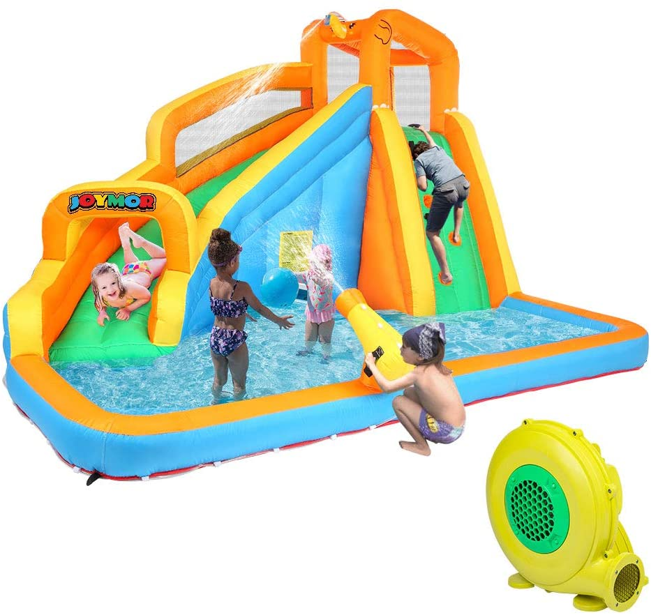 JOYMOR Inflatable Water Slide
