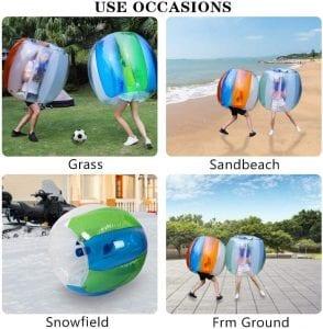 Keenstone Durable Material Portable Giant Bumper Balls