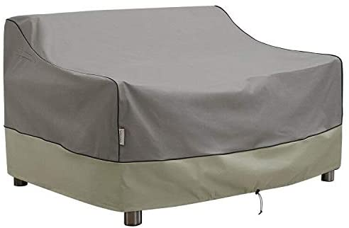 KylinLucky Fit Covering Up Waterproof Garden Furniture Gray Sofa Cover