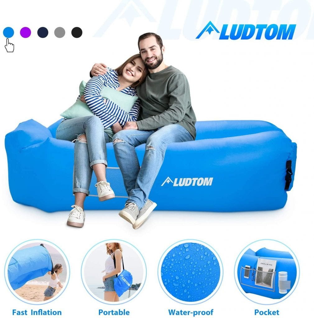 LUDTOM Portable Anti-Leakage Proof Water Resistant Couch
