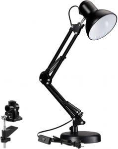 TORCHSTAR Metal Swing Arm Desk Lamp