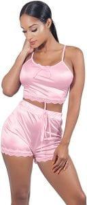 VWIWV Women Pajamas Sleepwear Set