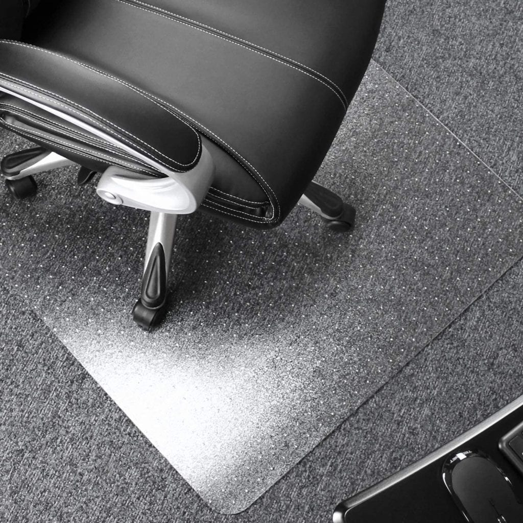 Visit The Floortex Store Clear Rectangle Polycarbonate Carpet Thick Chair Mats