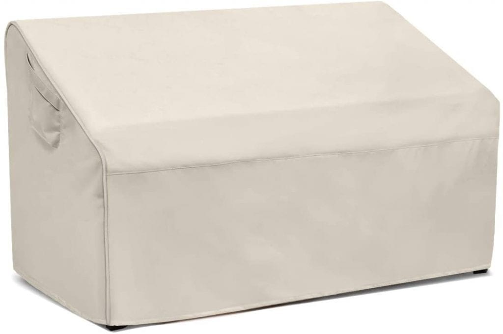 Visit The Honest OutFitters Store Outdoor Waterproof Loveseat Bench White Cover