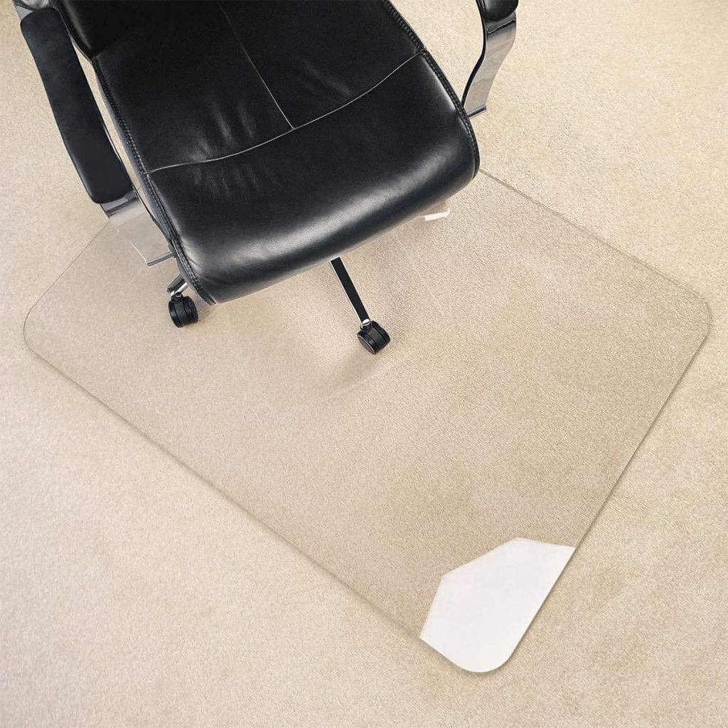 Visit The MuArts Store Clear Heavy Duty Hard Flooring Thick Carpet Mat