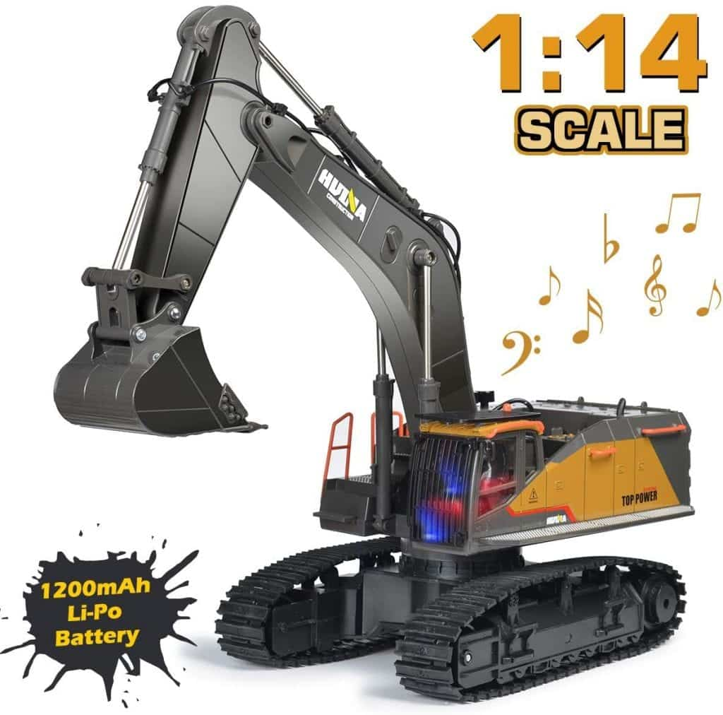22 Channel Upgrade Rechargeable Excavator