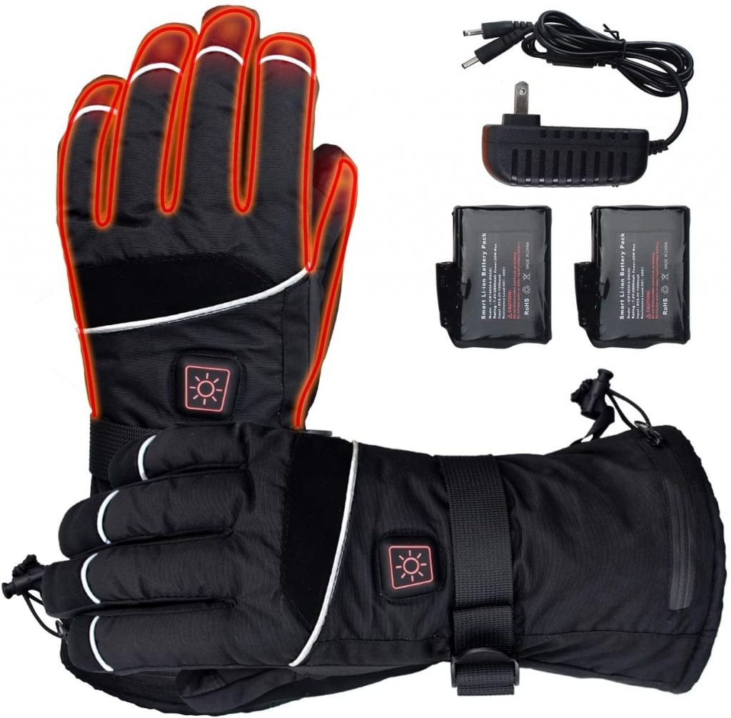 ELEKHEAL Rechargeable Thermal Heated Gloves