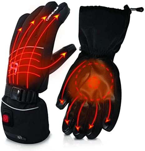 AKASO Heated Gloves for Men Women