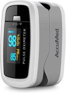 AccuMed Fingertip Pulse Oximeter