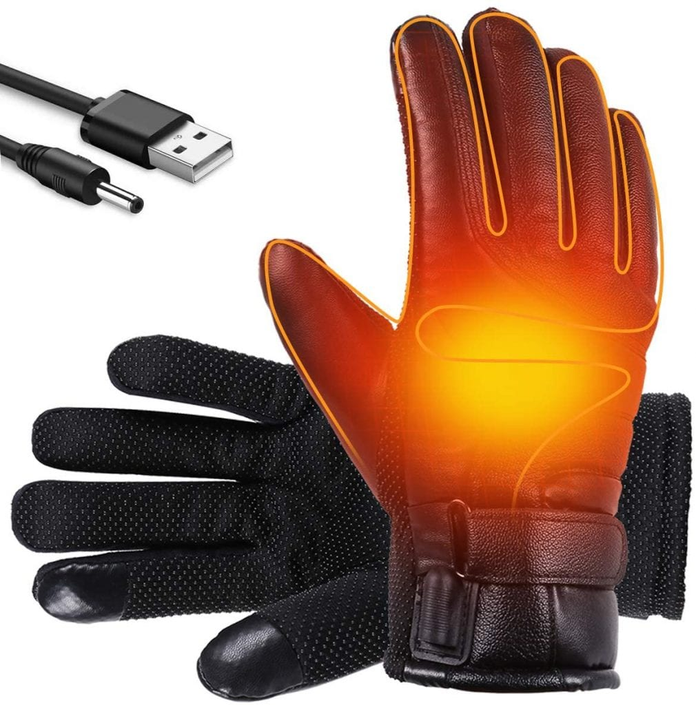 Anjo USB Heated Winter Thermal Gloves