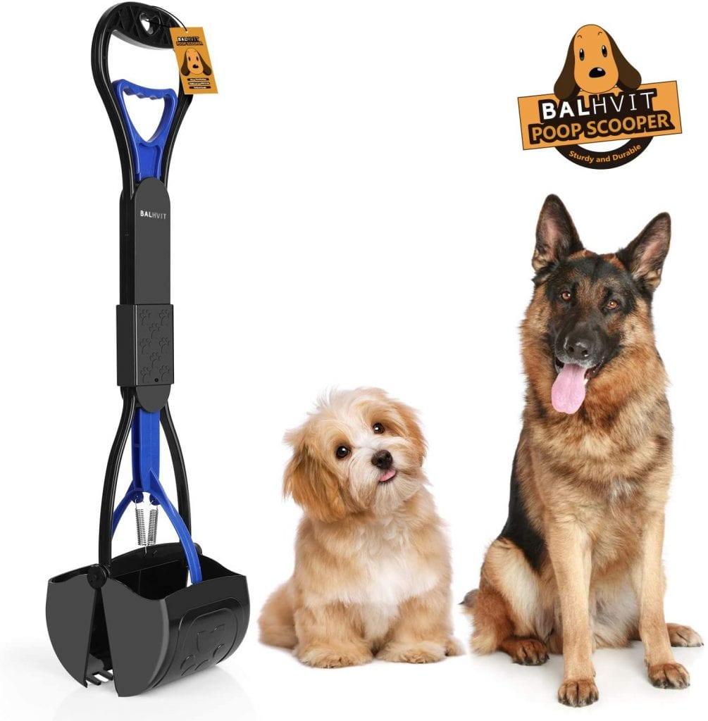 Balhvit Pick-Up Waste Portable Non-Breakable Dog Poop Scooper