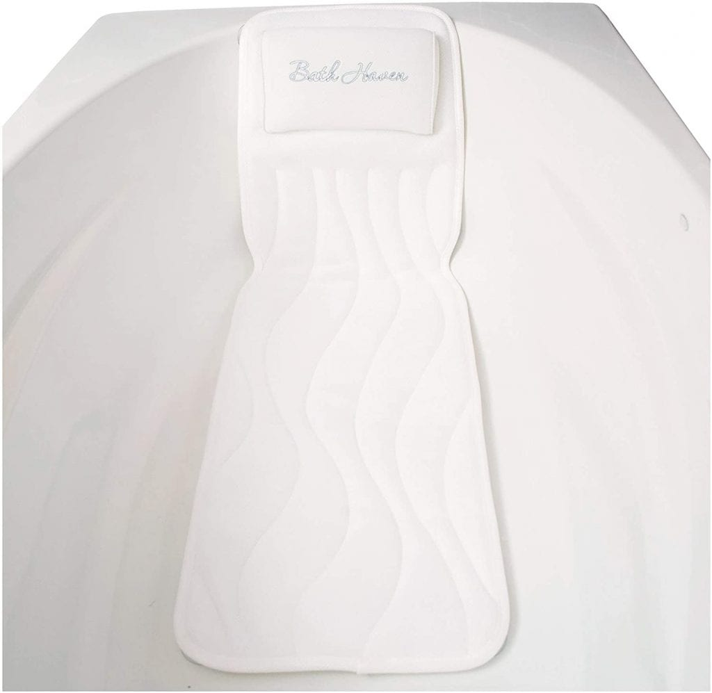 Bath Haven Bath Pillow and Spa Cushion for Full Body Comfort