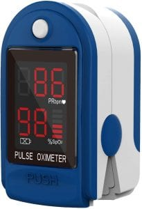 ClinicalGuard Oxygen Saturation and Heart Rate Monitor